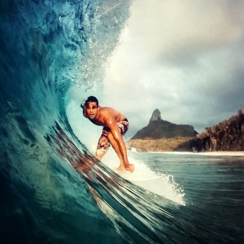 An other day in paradise.  #fernandodenoronha #surf  #SurferPhotos