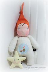 Sleepy Gnome Orange Gnome (The Pine Cone Gnome) Tags: baby wool hat alaska pine star gnome friend doll soft natural cone sleep waldorf juneau shannon cotton cuddle organic morgan sherpa steiner