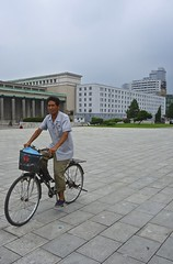 Pyongyang (EleanorGiul ~ http://thevelvetrocket.com/) Tags: bicycle asia northkorea pyongyang dprk coreadelnorte nordkorea    coredunord coreadelnord justinames  coriadonorte northkoreanman visitnorthkorea httpthevelvetrocketcom eleonoragiuliani eleonoraames dailylifeinnorthkorea