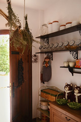 (Silvia Sala) Tags: door wood trip travel summer italy house holiday travelling kitchen architecture design countryside wooden italian interiors italia herbs d pastel country culture lifestyle style indoor spices jar tradition decor puglia italianfood furnishing apulia southitaly