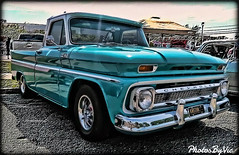 '65 Chevy Truck (Photos By Vic) Tags: old classic chevrolet truck vintage antique pickup chevy chrome vehicle carshow 65 1965