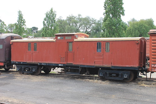 Victorian Goldfields Railway - Maldon Yard/Station