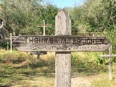 Here lies Tom Jones ... (Lindell Dillon) Tags: grave texas explore tomjones santaananwr lindelldillon