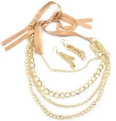 5th Avenue Gold Necklace P2010A-4