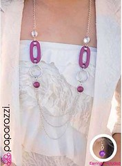 Glimpse of Malibu Purple Necklace K2 P2420-1