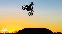 2/3/15 (KVDE HEDEMVNN) Tags: sunset newmexico canon honda rebel jump ride dusk highdesert moto whip send huck dslr motocross motox t3i actionsports crf highplains 2015 merica crf250