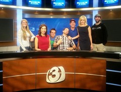 3TV Anchor Karen Brown w/ Channel 3 Phoenix Weekend Crew (karenbrowntv) Tags: arizona brown news phoenix karen cbs 3tv channel3 karenbrown ktvk