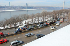 IMG_2799 (kz1000ps) Tags: nyc newyorkcity winter snow car newjersey suspension crash accident manhattan police sunny grand firetruck dodge hudsonriver caravan february minivan wreck hybrid suv gwb fortlee georgewashingtonbridge palisades lexus washingtonheights riversidedrive henryhudsonparkway fordfusion