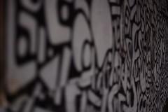 Black and white patterns (graffiti) (sandklef) Tags: street house streetart broken window graffiti nikon grafitti decay gothenburg hisingen d710 nikond7100