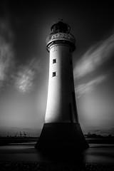 """Catching the Light Pt2"" (Perch Rock Lighthouse New Brighton) (Ray Mcbride Photography) Tags: lighthouse mono blackwhite newbrighton perchrock"