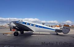 Beechcraft 18 (C- 45H) Expeditor (Martin J. Gallego. Siempre enredando) Tags: canon fio canoneos lecu cuatrovientos fundacioninfantedeorleans ecasj canon1000d canoneos1000d