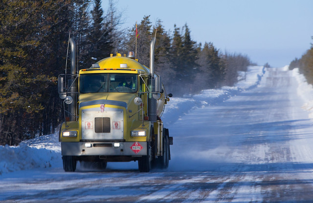 Ice Road to Fort Chipewyan