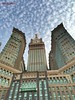 Sky cloud in Makkah .... 03/03/15 #makkah #mecca #masjidilharam #tower #mekkah (mraqieb) Tags: tower mecca makkah mekkah masjidilharam