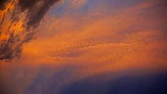 Entering Evening Sky