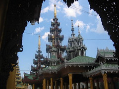 Golden Temple Pavilion Yangon