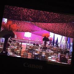 """""""กุหลาบสีแดงจำนวน 75,000 ดอก"""" #ThailandLuxuryWedding #ChicPlanner Privé #WeddingPrive"""