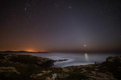 Costa da  Morte (Chencho Mendoza) Tags: costa nikon venus galicia estrellas nocturna atlntico malpica costadamorte d610 nariga chenchomendoza