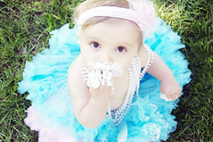 Evalynn-1 year (kristen stokes photography) Tags: baby cute girl adorable 1year tutu
