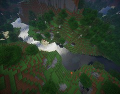 Solemn River (BubblesAndSuch) Tags: videogames shaders minecraft