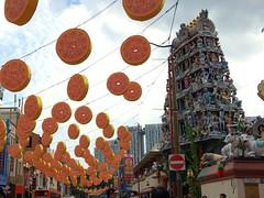 Sri Mariamman Temple #1 in China Town (Fuyuhiko) Tags: china new temple town singapore year sri  lunar    mariamman