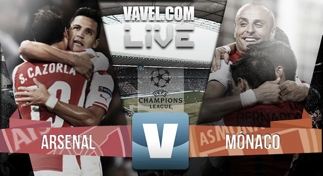 Champions VAVEL - Arsenal vs Monaco - LIVE