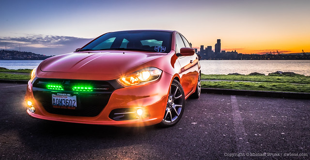 seattle car sunrise march automobile mopar dodgedart 2015 donarmenipark
