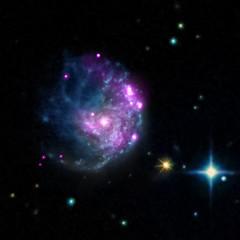 Intriguing Member of Black Hole Family Tree (ngc2276) (NASA's Marshall Space Flight Center) Tags: nasa blackhole chandra marshallspaceflightcenter chandraxrayobservatory