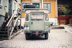 Land Rover (thedecentexposure) Tags: street dark prime dof bokeh streetphotography norwegen knight shallow landrover speedmaster trondheim srtrndelag lense 095 mitakon
