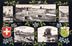 Thurgau am Bodensee (CardCollector & HobbyPhotographer) Tags: switzerland postcard bodensee 1907 thurgau multiviewpostcard