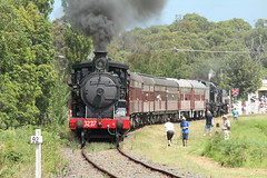 Toping and Tailing (james.sanders2) Tags: heritage train transport engine rail class steam shuttle nsw p fest railways 32 picton lvr 2015 thirlmere 3237 nswgr