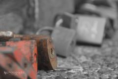 Love locks (lg-photographic) Tags: love colors lock farben döse cuxhaven kugelbake selektive liebesschloss
