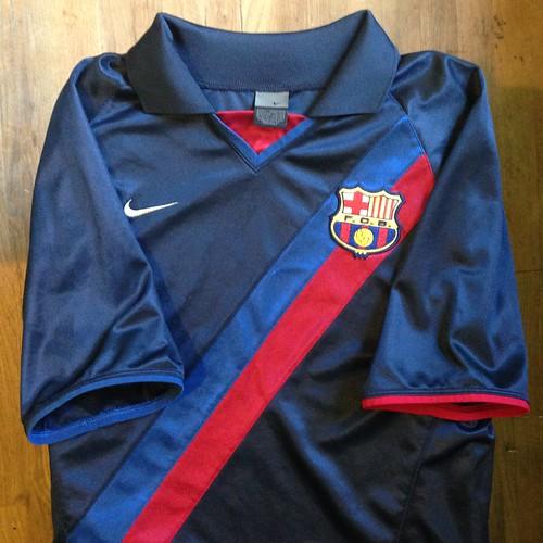 best website c3270 c844a 2002-2003 FC Barcelona Away Jersey - a photo on Flickriver