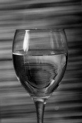 Abstract (rockindave1) Tags: abstract lines wineglass blackwhite adobecs6 canoneos5dmark2 stilllife light shinninglight