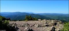 Montcalm, panorama Nord (Mont LOZERE) (gunger30) Tags: saintjeandupin montcalm montagne cvennes gard campagne ciel panorama pointdevue horizon