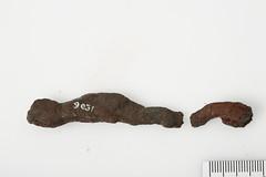 Aflang genstand [OBM/FS9031] (2) (Odense Bys Museer) Tags: aflanggenstand jern bulbjerggrd espe hillerslev
