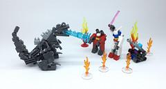 LEGO GODZILLA_04 (ToyForce LEGO Mecha) Tags: lego robot robots mecha mech mechanic legomech legomoc godzilla
