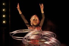 Circus Sijm 2014 (DirkJan Ranzijn Circus Photography) Tags: circus zirkus cirkus circo music show voorstelling vorstellung nikon d3s nikkor sigma tent travel travelling low light hoolahoop rings ringen meisje girl beautiful