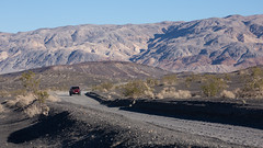 The Road That I Chickened Out (tourtrophy) Tags: deathvalleynationalpark deathvalley desert racetrack jeep jeepwrangler canoneos5dmark3 canonef100400mmf4556lisusm