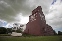 museum of wheat (Trevor Pritchard) Tags: hepburn saskatchewan museum wheat july 2016 grain elevator rural prairies pool