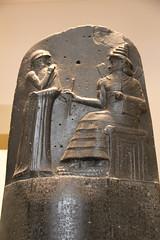 Code of Hammurabi, King of Babylon, Basalt, 1792-1750 BC (Gary Lee Todd, Ph.D.) Tags: france louvre paris ancient neareast hammurabi codeofhammurabi basalt babylon
