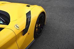 TourDeFrance (2KP) Tags: auto france cars car sport yellow racetrack de tour ferrari collection val le autos tourdefrance et circuit supercar vienne supercars f12 v12 tdf 2016 vigeant 2kp f12berlinetta f12tdf