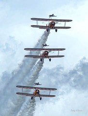 Wing Walkers at Fairford (andyg1962) Tags: show canon eos air wing walkers stunt biplane stunts fairford riat 2016 60d