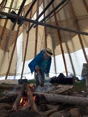 IMG_2446.JPG (creehealth) Tags: teepee mamoweedow fort george canada quebec cree james bay tipi indigenous eeyouistchee summer people story books storytelling