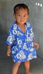 flowery shirt toddler (the foreign photographer - ) Tags: jul172016nikon boy toddler blue white flowery shirt khlong bang bua lard phrao portraits bangkhen bangkok thailand nikon d3200