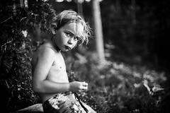 (Monsieur Marchi) Tags: sonya7r nils nephew bw summer beach lake sweden sverige jupiter3 50mm f15 portrait boy