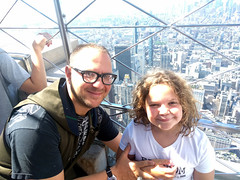Me and Poesy selfie, Empire State Building, New York City, NY, USA (gruntzooki) Tags: new york newyork newyorkcity nyc ny usa poesy corydoctorow flatironbuilding empirestatebuilding