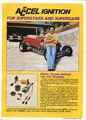 1978 Accel Ignition Advertisement with Reggie Jackson Hot Rod December 1978 (SenseiAlan) Tags: 1978 accel ignition advertisement with reggie jackson hot rod december