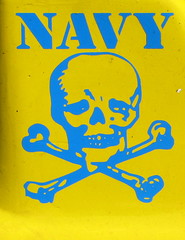 IMG_8819 (Mat_B) Tags: carnival 2016 fun summer ride text navy skull crossbones blue yellow