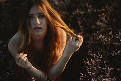 Althea (Be ppe) Tags: photography nikon woman girl young sunset flower viola barena veneto italy ritratto portrait shadows light