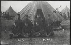 Archiv G662 Red Oak [heute Militrbasis  Red Oak, Iowa] Vereinigte Staaten, 1910er (Hans-Michael Tappen) Tags: archivhansmichaeltappen usa iowa redoak militrbasis military soldaten soldiers soldat uniform zelt zelte tent 1910er 1910s